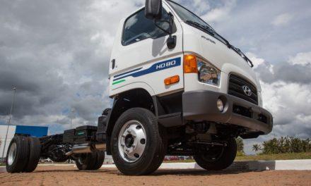 CAOA Hyundai lança o caminhão HD 80