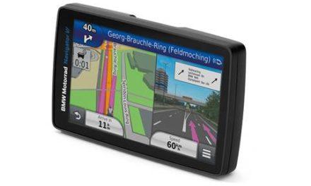 BMW lança GPS de última geração para motos