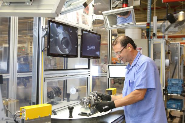 VW exporta componentes de motor para a Alemanha