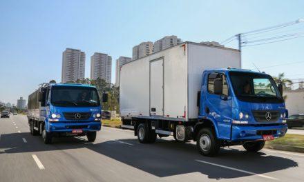 Exportação de caminhões Mercedes-Benz sobe 37%