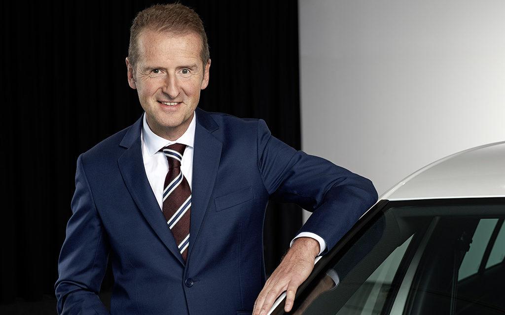 Herbert Diess, o novo presidente do Conselho VW