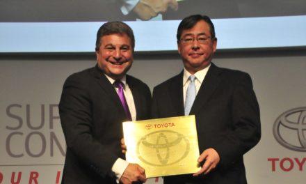 Toyota elege Pioneer melhor fornecedor de 2017