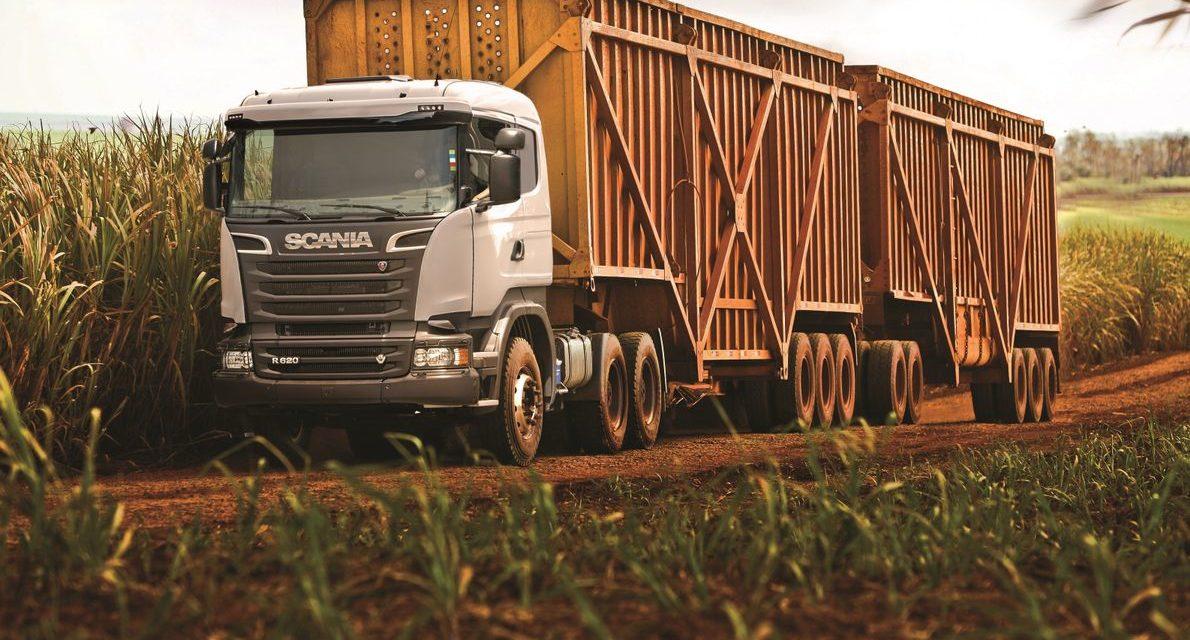 Scania mostra Super Rodotrem na Agrishow