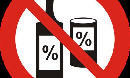 Bebida alcoólica só no porta-malas