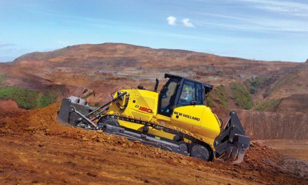 Mercado de equipamentos para construção em alta