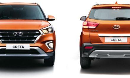 Hyundai Creta é reestilizado na Índia