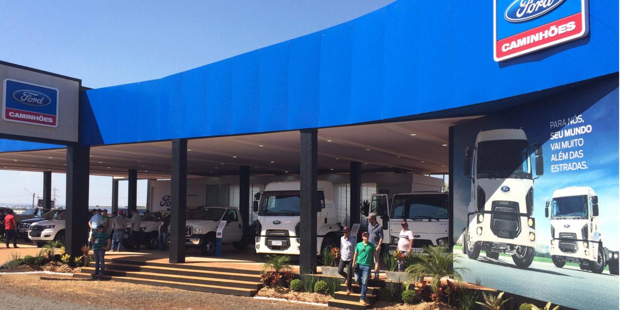Ford vende 50 caminhões na Agrishow