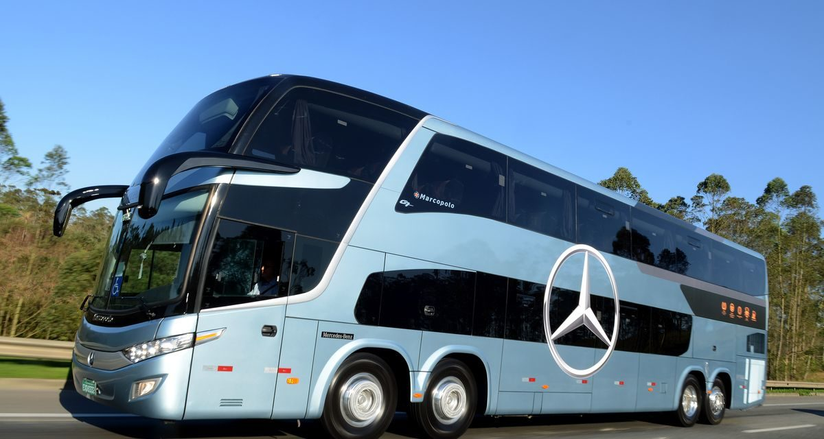 Rodoviários Mercedes-Benz ganham eficiência
