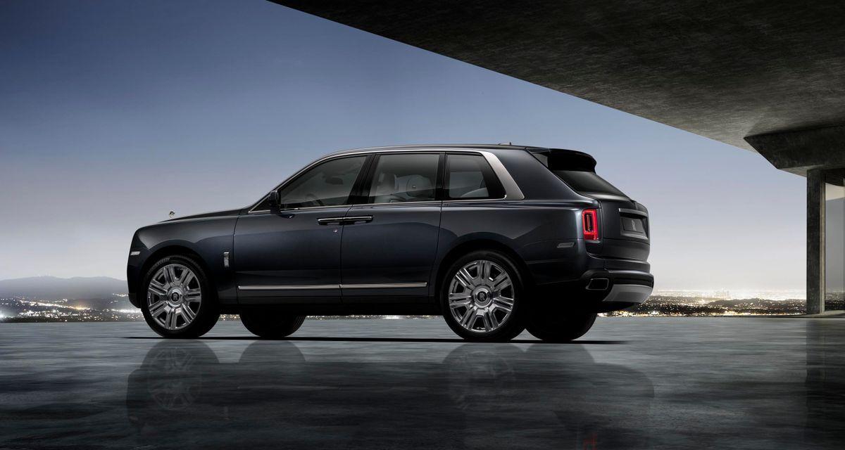 Rolls-Royce apresenta o Cullinan, primeirio SUV da marca