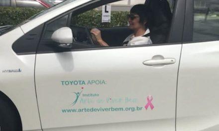 Ao volante, acelerando contra o câncer de mama