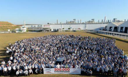 Toyota Etios: 500 mil unidades produzidas aqui.