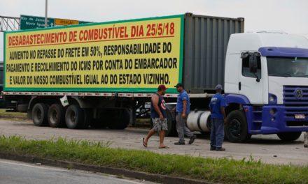 Greve dos caminhoneiros prejudica produção