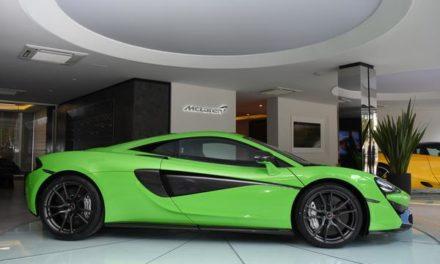 McLaren inaugura revenda no Brasil