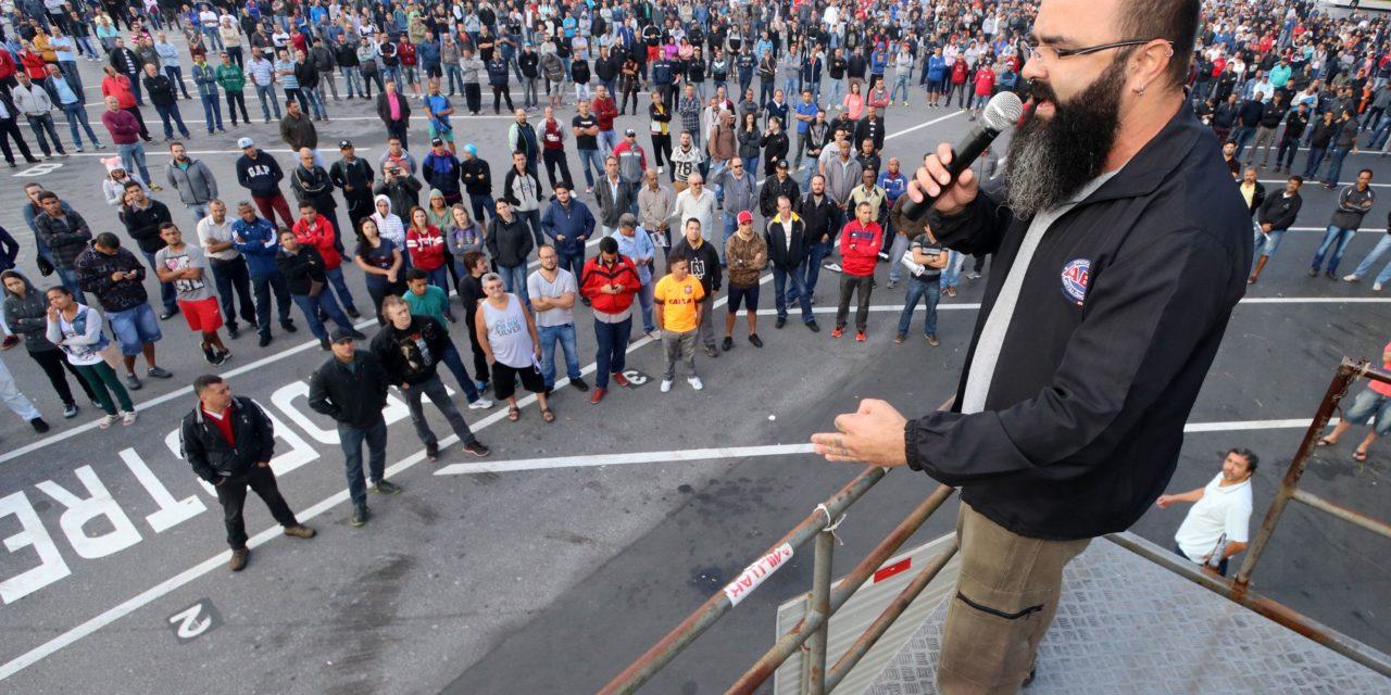 Segundo dia de greve na Mercedes-Benz