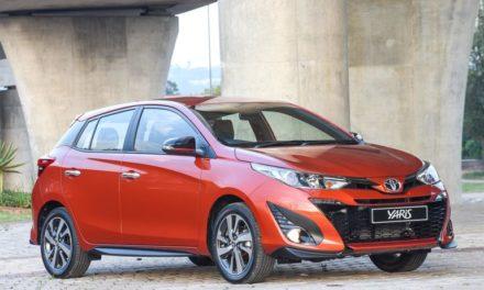 Toyota Yaris chega em junho