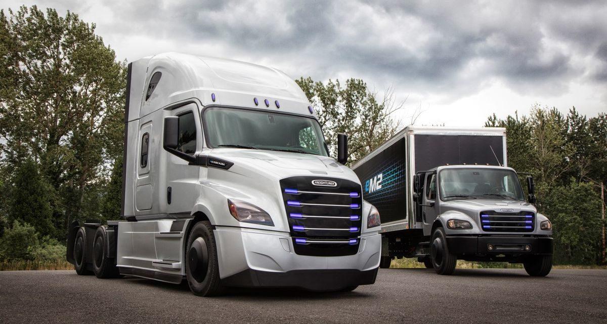 Daimler lança versões elétricas da marca Freightliner