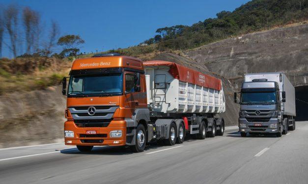 Mercado de caminhões cresce 47% em 2018