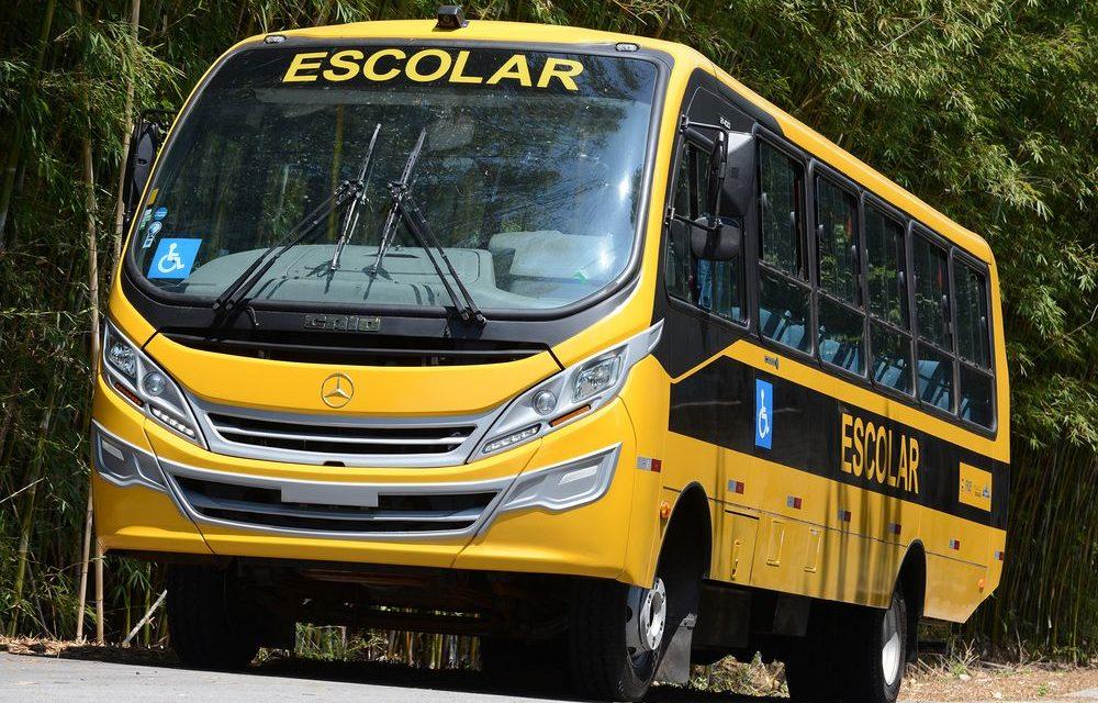 Mercedes-Benz fornecerá 1,6 mil ônibus ao Caminho da Escola