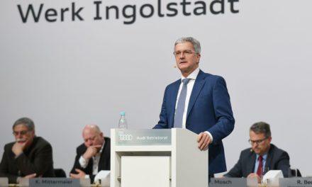 CEO da Audi é preso na Alemanha