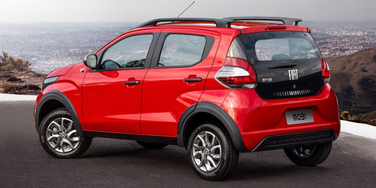 Fiat reformula gamas do Mobi e Uno