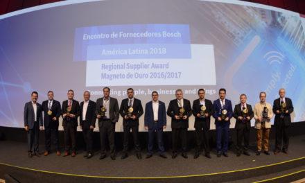 Bosch premia os melhores fornecedores