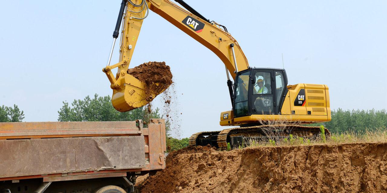 Caterpillar lança nova geração de escavadeiras