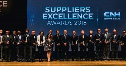 CNHi premia fornecedores pela primeira vez