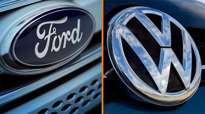 Ford e Volkswagen formalizam aliança global