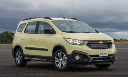 Novo Spin Activ chega na rede Chevrolet no início de julho