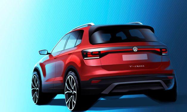 Volkswagen revela imagem do T-Cross
