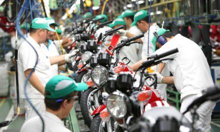Produção de motocicletas cresceu 5,3% de janeiro a maio