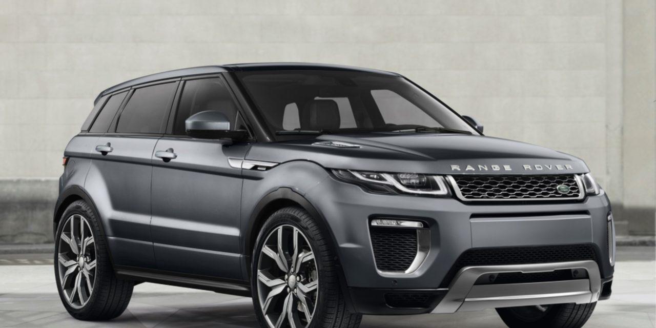 JLR lança edição especial do Range Rover Evoque