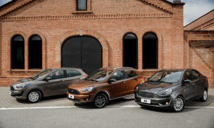 Ford convoca 143,5 mil Ka hatch e sedã para reparo