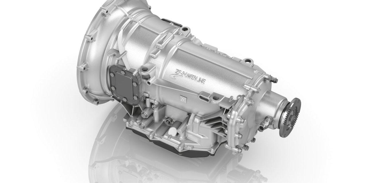 ZF  terá nova transmissão automática para veículos comerciais