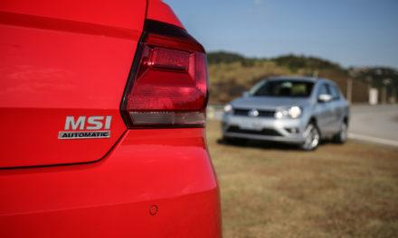 Volkswagen lança Gol e Voyage com câmbio automático