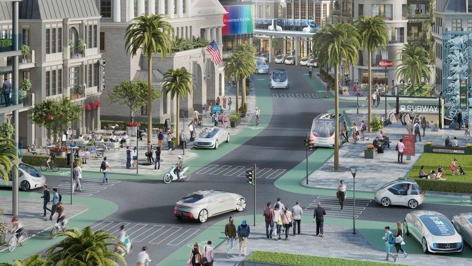 Bosch e Daimler escolhem Califórnia para testes de veículos autônomos em cidades