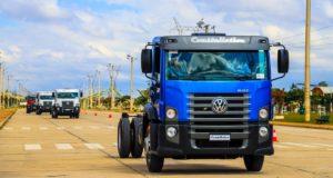 MAN Latin America inicia exportações da linha de caminhões Constellation de 17 a 31 toneladas