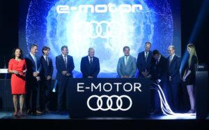 Fábrica de motores elétricos da Audi na Hungria
