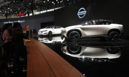 Vendas globais da Nissan recuam 3%