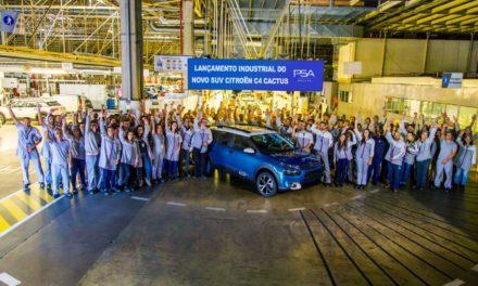 PSA já produz Citroën C4 Cactus em Porto Real