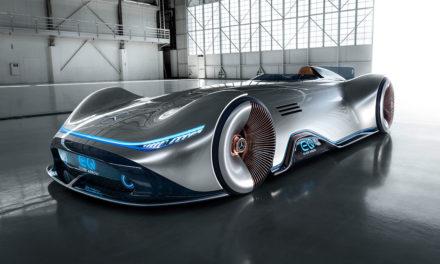 Mercedes-Benz exibe esportivo elétrico