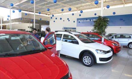 Vendas de veículos no bimestre crescem 17,8%