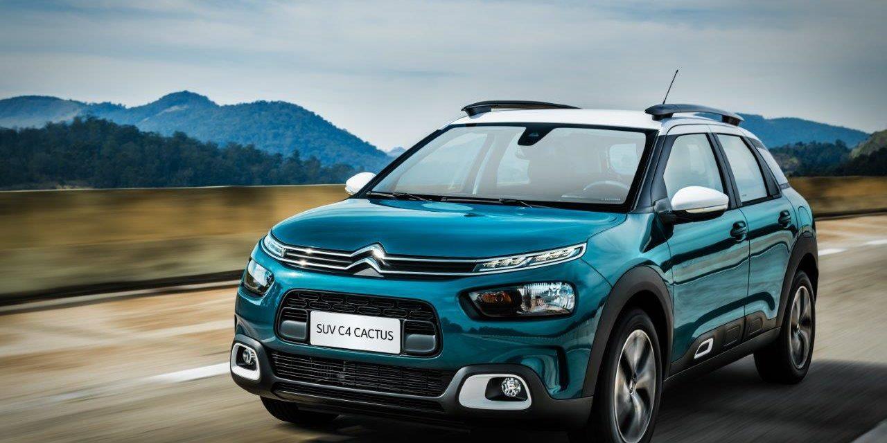 Cactus completa um ano como Citroën mais vendido no Brasil