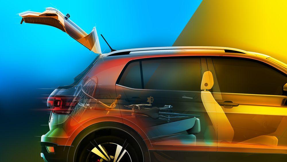 Volkswagen mostra mais um pouco do T-Cross