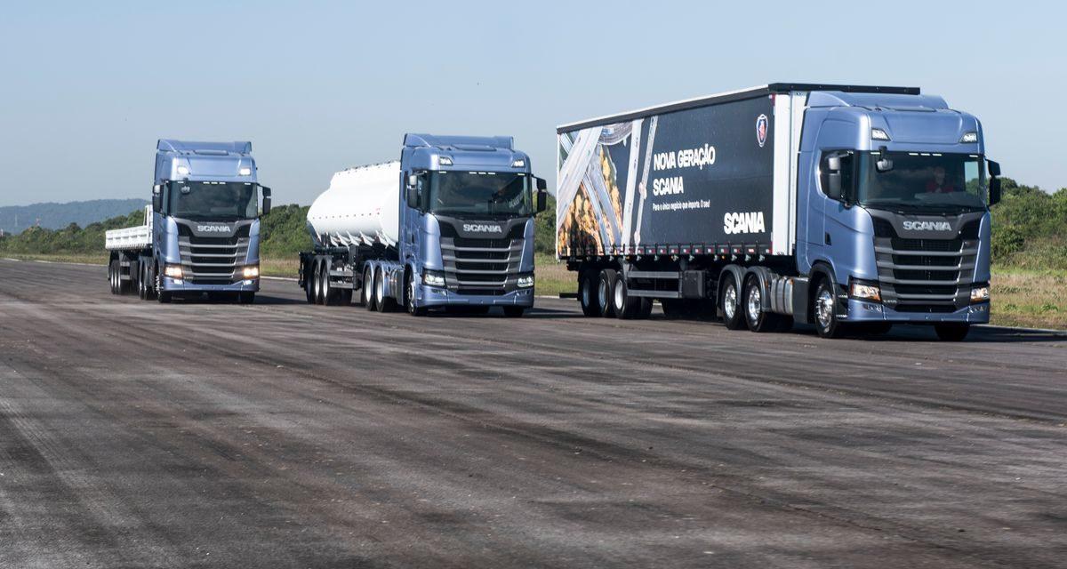 Mercado de caminhões cresce 44,9% no semestre