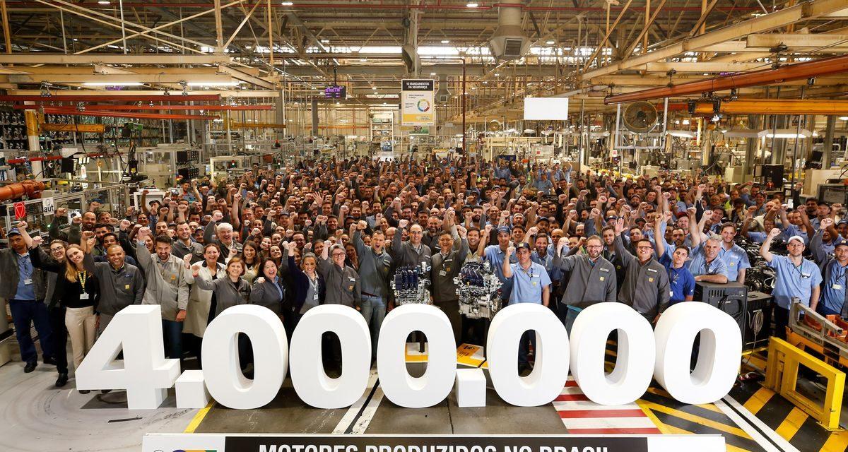 Renault: 4 milhões de motores produzidos no País