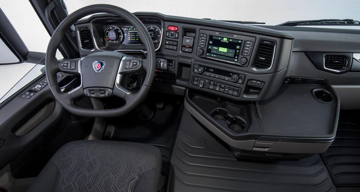 Scania nova geração - Interior