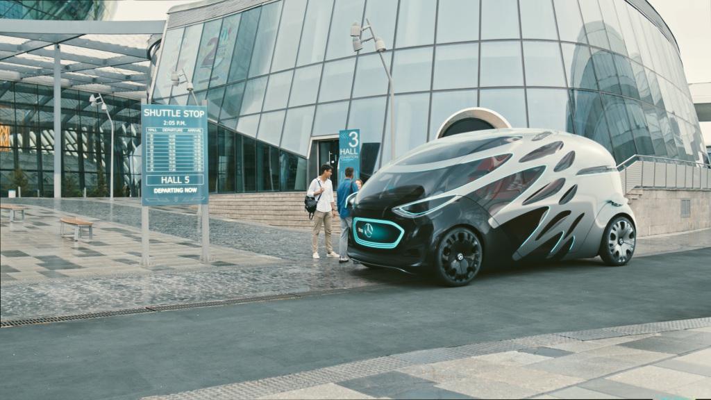 Vision Urbanetic, o comercial leve do futuro da Mercedes-Benz