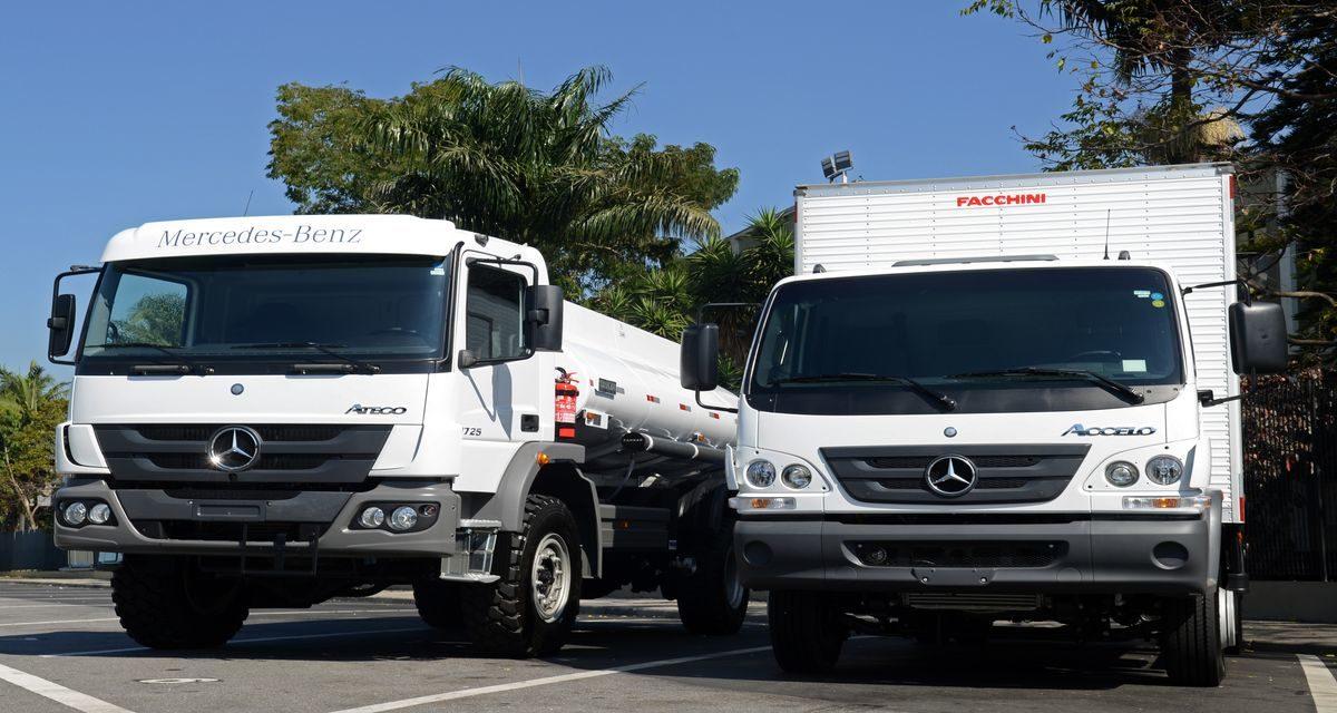 Caminhões tipo exportação