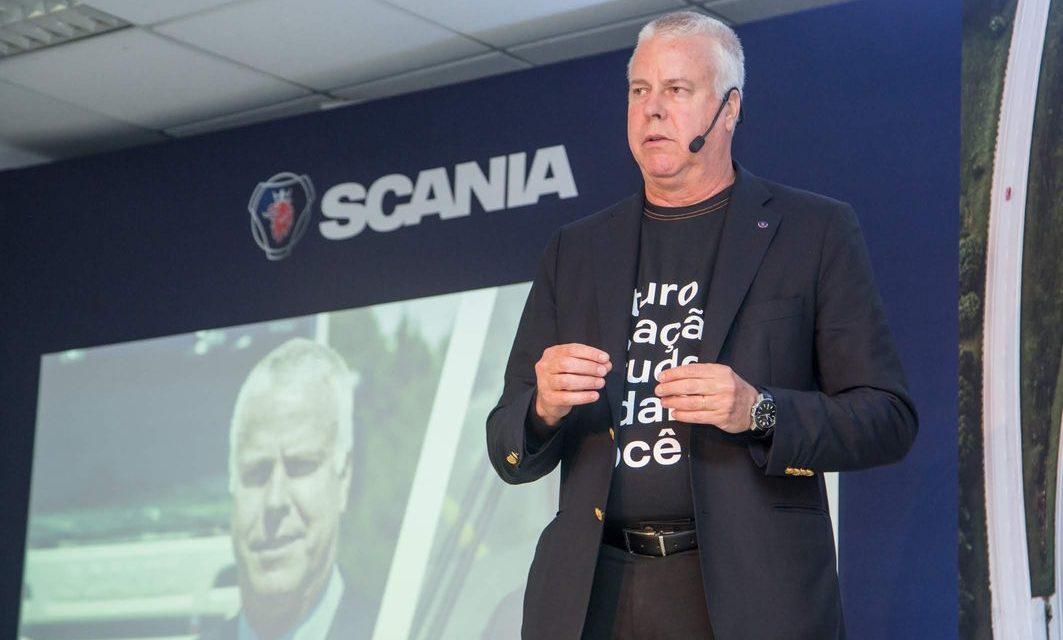 Scania acelera produção em São Bernardo do Campo